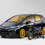 2015-Honda-Fit-by-MAD-Industries-front-three-quarter-02