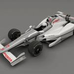 Honda Speedway Aero Kit Front 3/4 view