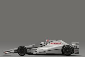 Honda Speedway Aero Kit Profile view
